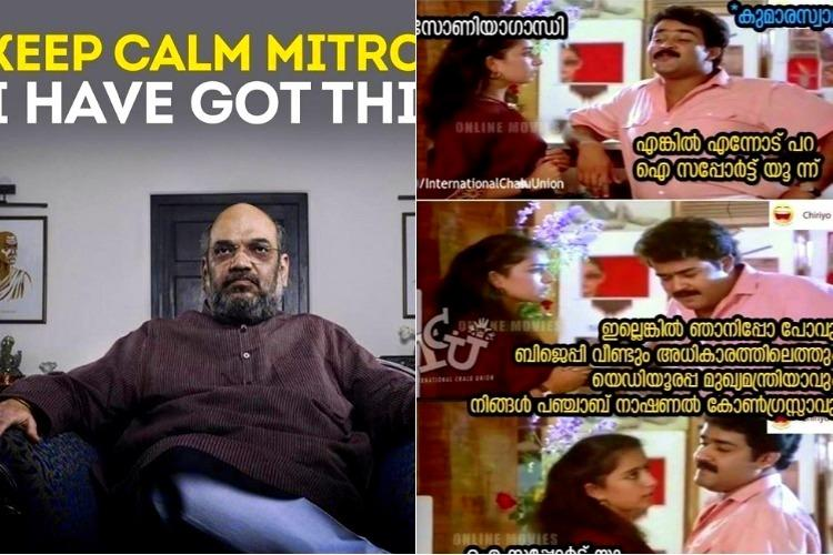 From Avengers to Jilla meme-makers have a blast with Ktaka political turmoil