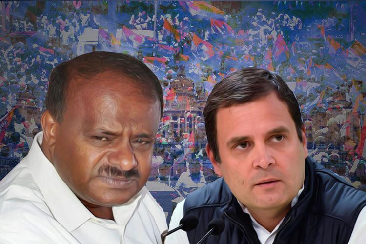 Congress backs HD Kumaraswamy as CM offers support to JDS