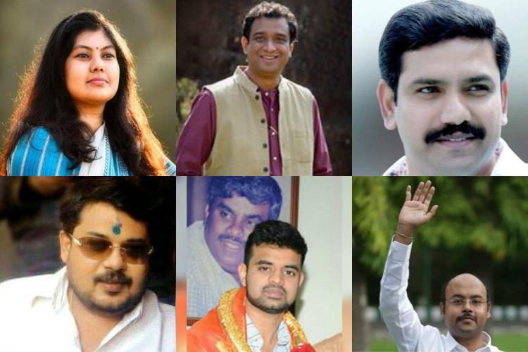 Ktaka 2018 Sons and daughters of leaders make a beeline for party tickets