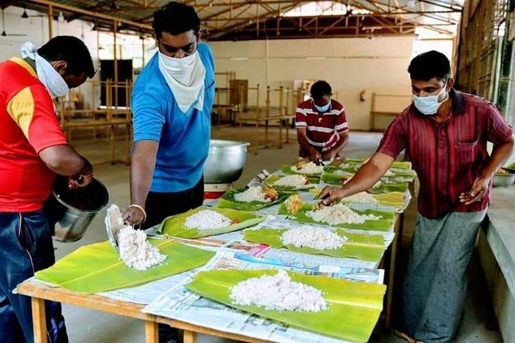 Inside a Kerala community kitchen during the coronavirus lockdown