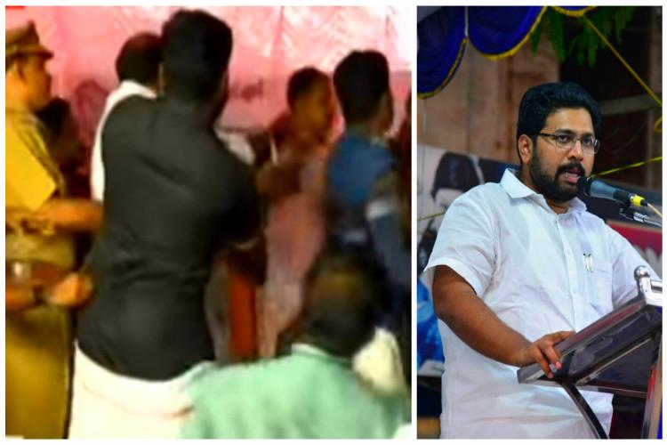 Cong-CPI M workers clash in front of students at Kerala school MLA apologises