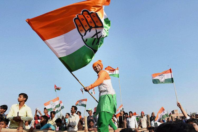 Facing mass defections and unrest Congress is battling for survival in Telangana