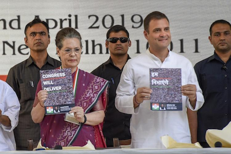 Congress manifesto for Lok Sabha 2019 The key promises