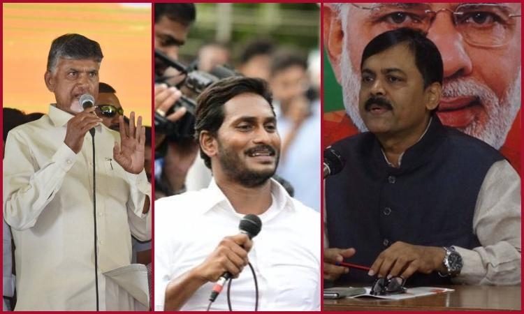 After attack on Jagan TDP YSRCP and BJP hurl conspiracy accusations