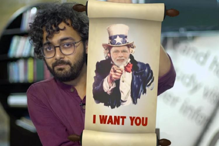 Consti-tuition This show breaks down the complex Indian democracy in funny punny way