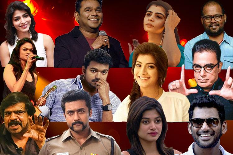 From PETA to Vishals political entry controversies that rocked Kollywood in 2017