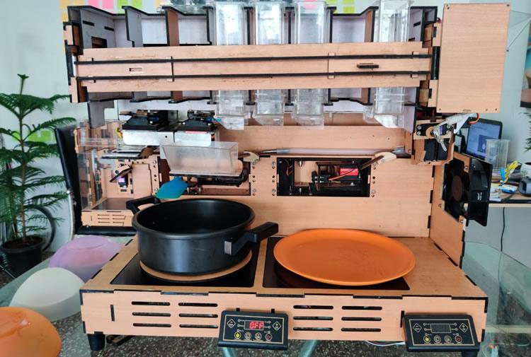 Welcome to the future South Indian startups are developing robots that can cook for you