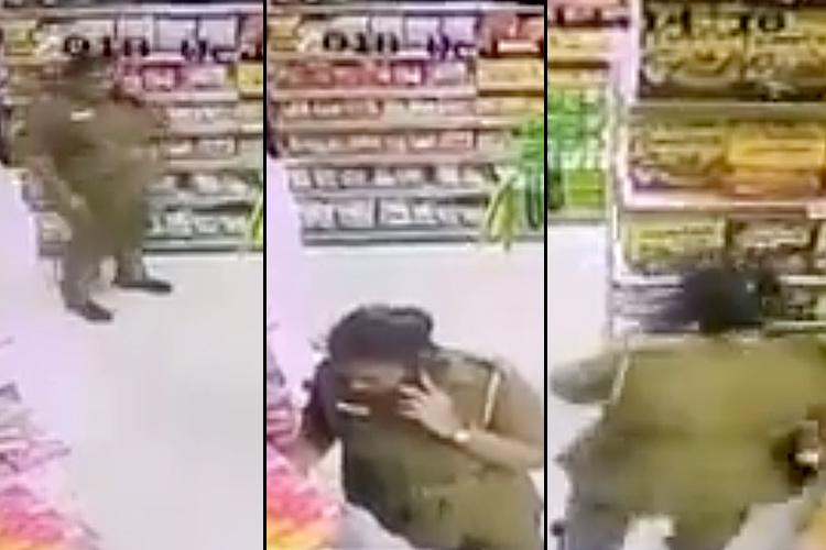 Chennai cop caught shoplifting assaults employees who busted her