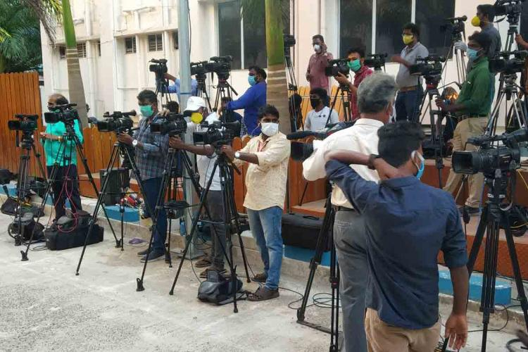 27 staff members of a Tamil news channel test positive for coronavirus
