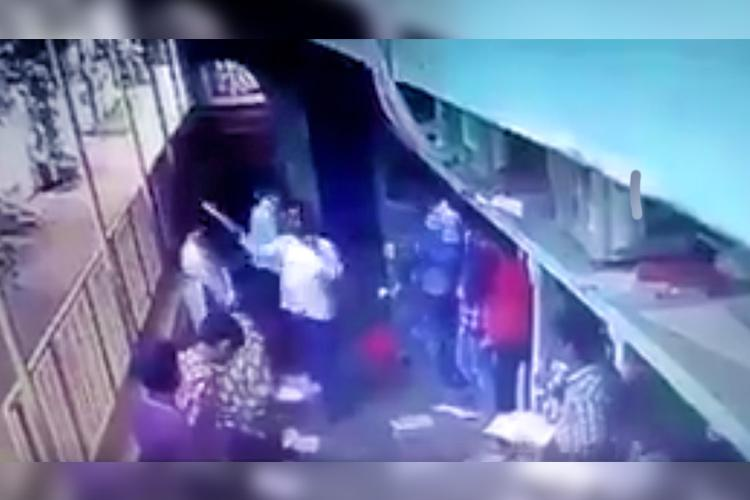 Andhra coaching centre nightmare Teacher caught on cam thrashing students