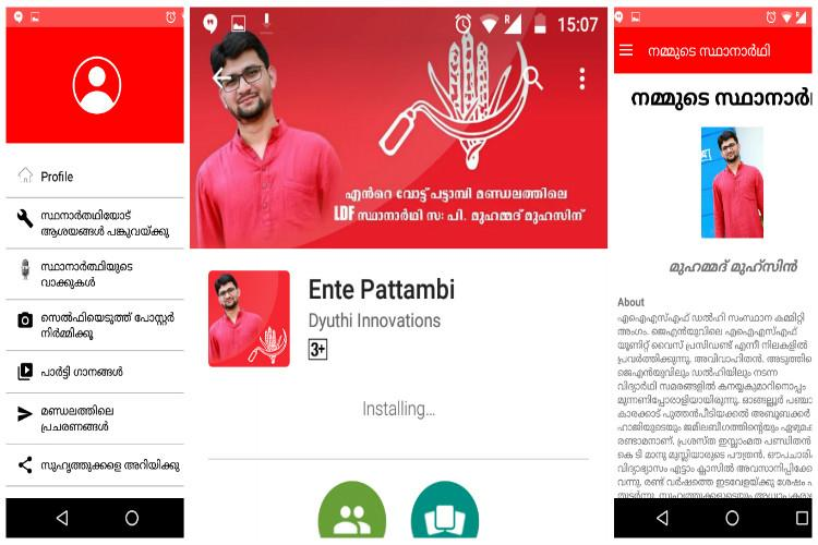 CPI interactive app for each of its candidates garners good response from young voters in Kerala