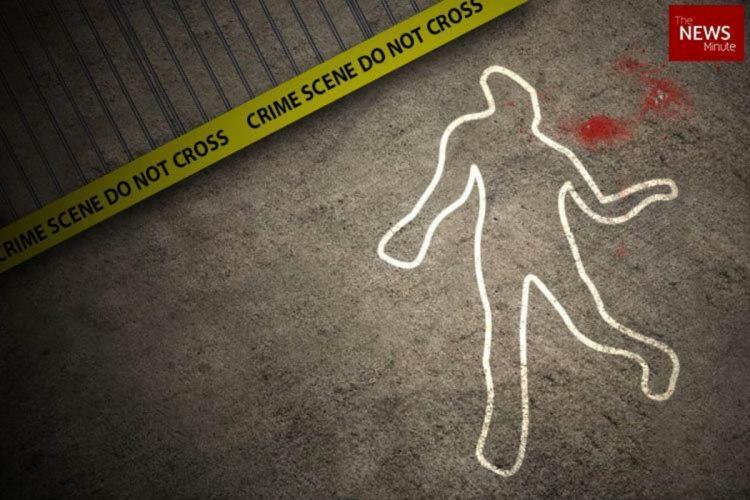 An imagined crime scene