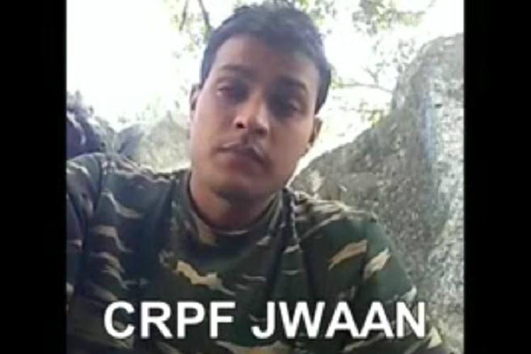 Why dont CRPF personnel get same facilities as Army soldiers Jawan asks Modi