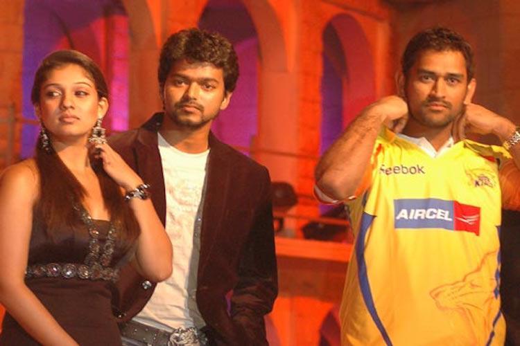 Vijay and Nayanthara roped in as CSK brand ambassadors