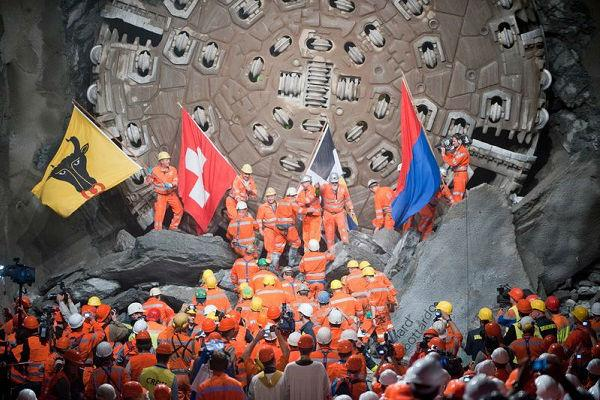 Switzerland gives itself and the world the longest tunnel on earth