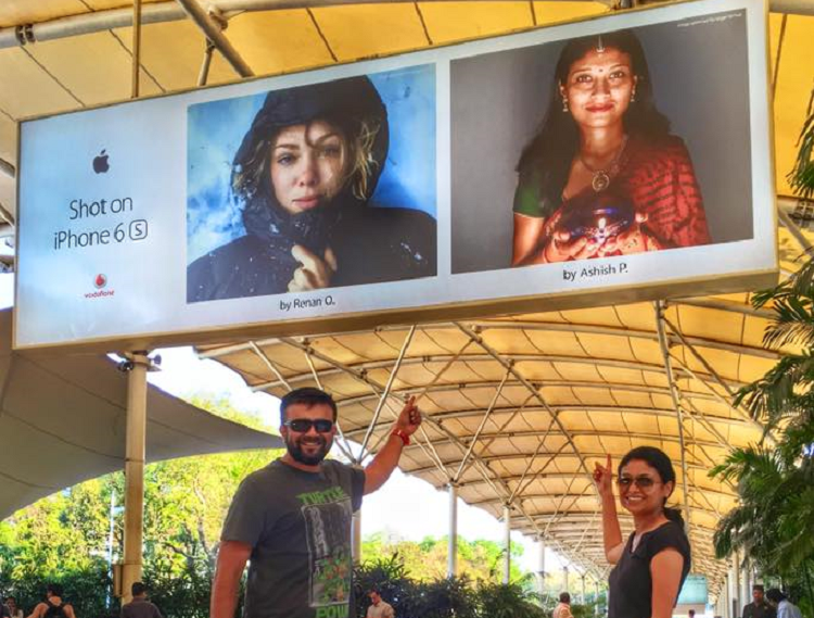 How this Bengaluru mans wife became That woman on the billboard