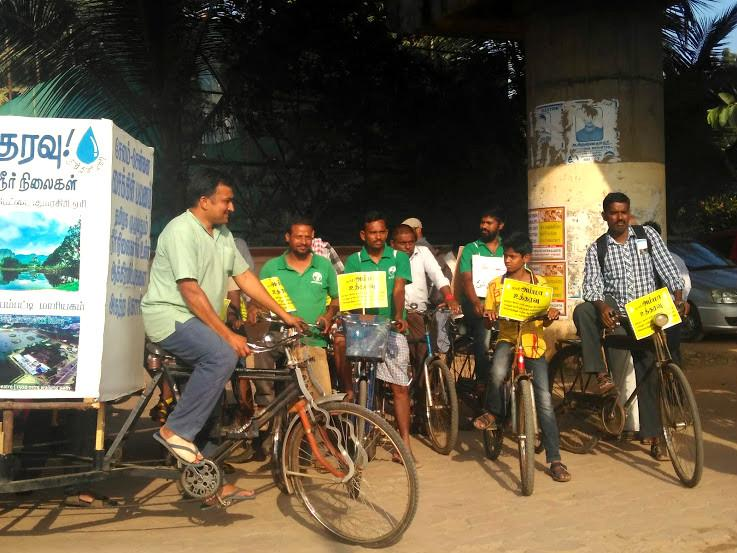 Cycling from Salem to Chennai A trail of encroached water-bodies and an unresponsive govt