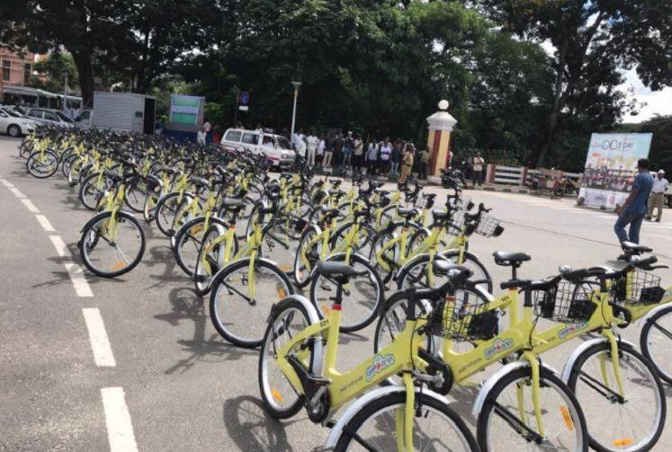 Get ready for bicycle-sharing Bengaluru These 4 Metro stations will get docking points
