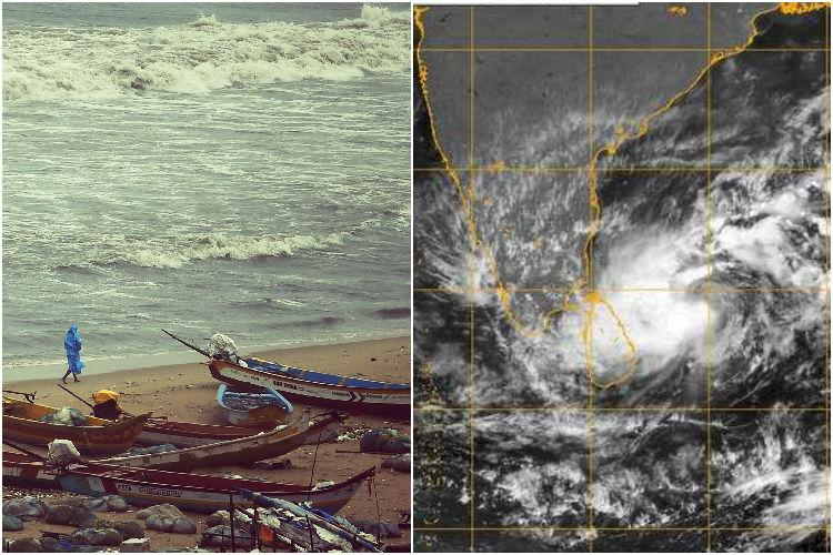 Cyclonic storm Nada heads towards TN coast heavy rains expected in Chennai from Dec 1