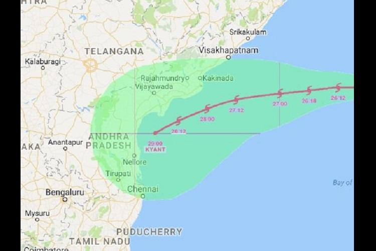 Alert on Andhra coast as cyclonic storm Kyant advances people asked to stay indoors