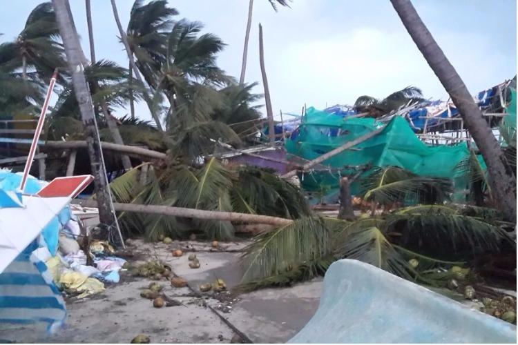 Cyclonic storm Ockhi has moved away from Lakshadweep says Centre