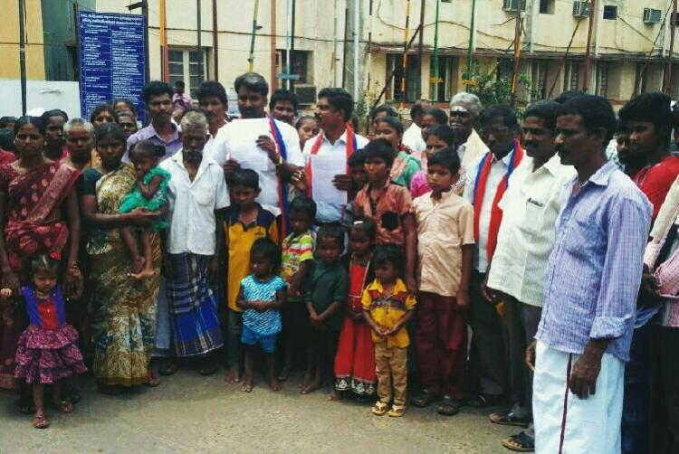 No peace for the dead Coimbatore Dalits cant use graveyard in which Gounders are buried