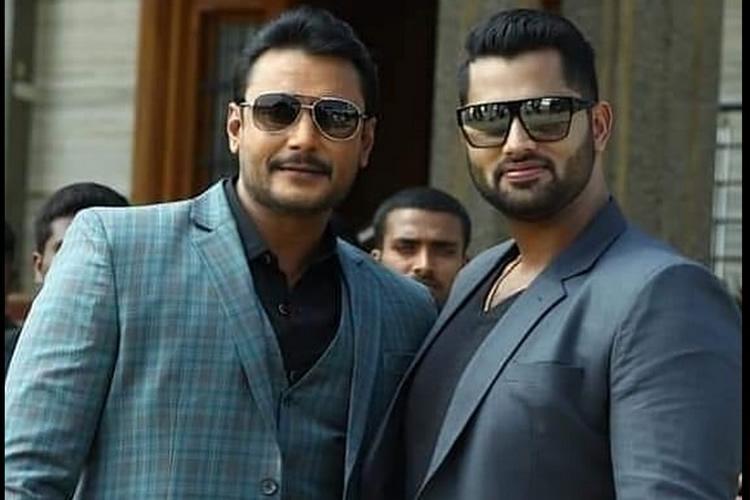 Abhishek Ambareeshs Amar teaser to be released along with Darshans Yajamana