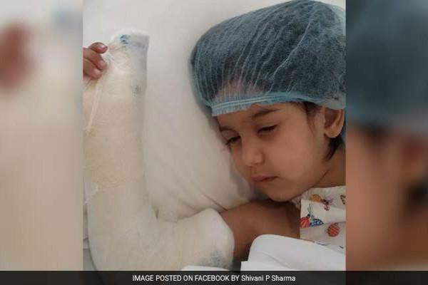 Gurgaon shocker 3-year-old girl loses thumb due to daycare negligence