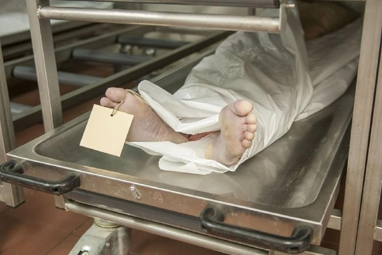 Dead body kept in a medical facility