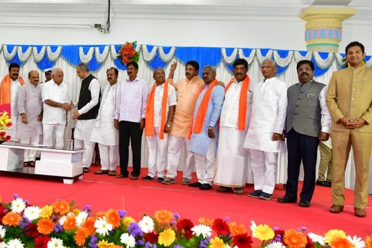 13 out of 15 newly-elected Karnataka MLAs take oath
