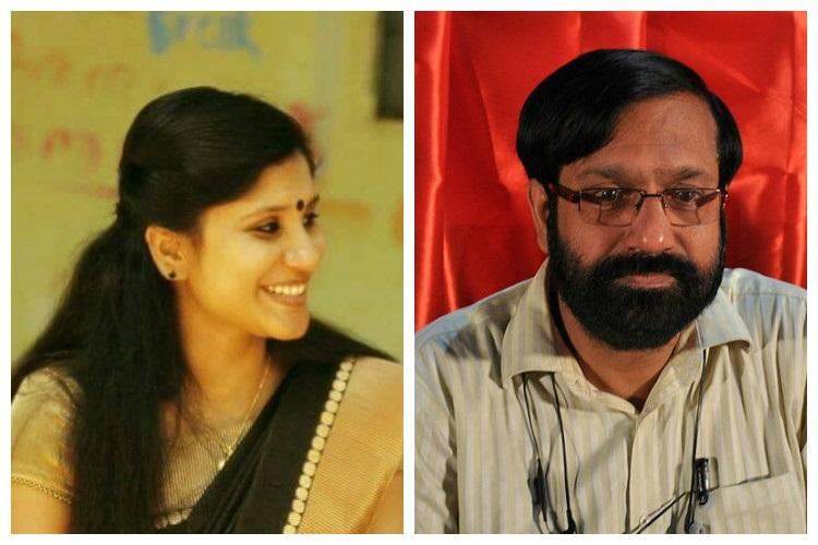 For hurting sentiments Kerala writer and college professor face threats of mutilation acid attack