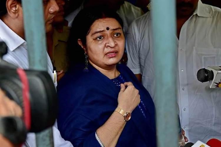Fight to be Jayalalithaas heir Will take legal action against fake claims by Amrutha says Deepa