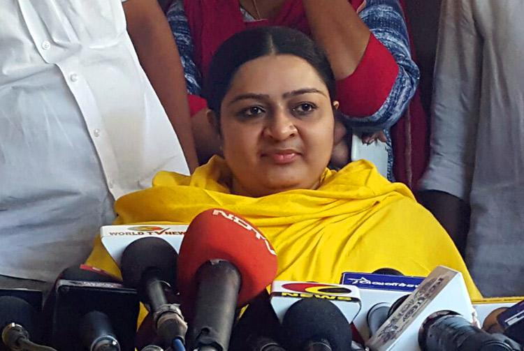 I will not stake claim for Poes Garden house now state is my priority Deepa Jayakumar