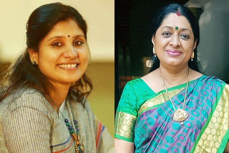 Deepa Nisanth says no to event with Urmila Unni actor who wanted Dileep back in AMMA
