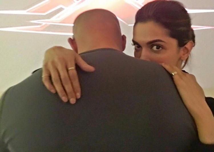 Vin Diesel is a warm person Deepika Padukone