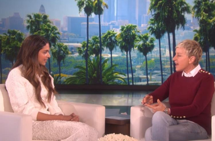 Didnt know I was part of XXX till after the film photoshoot Deepika Padukone on Ellen