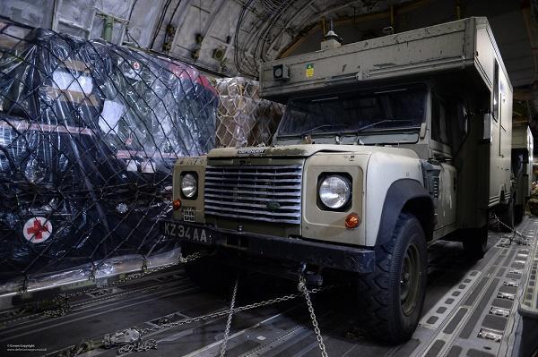 India gifts 30 field ambulances to Kenya