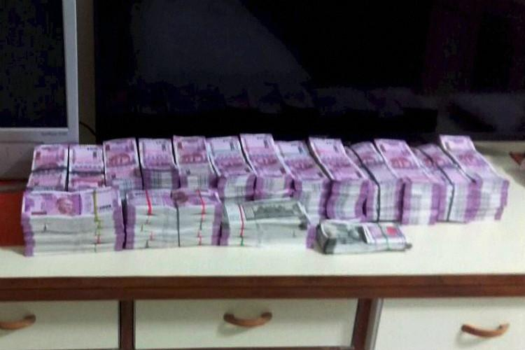 ₹ 45 crore demonetised currency seized in Chennai