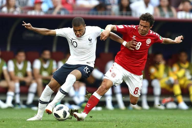 France Denmark play out first goalless draw of World Cup qualify for pre-quarters