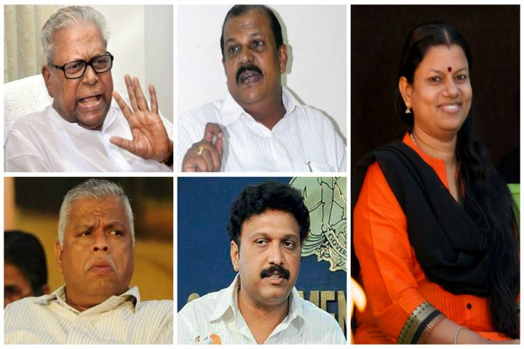 A look at an array of colourful exchanges between Kerala politicians