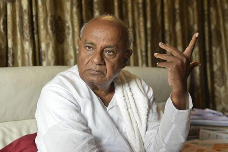 Angry HD Deve Gowda warns Congress asks high command to rein in MLAs