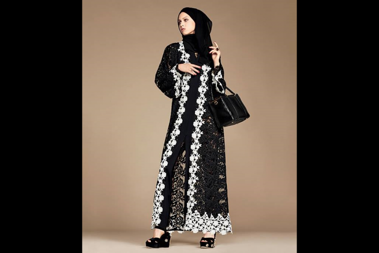 Targeting Muslim shoppers Dolce Gabbana launches hijabs and abayas line
