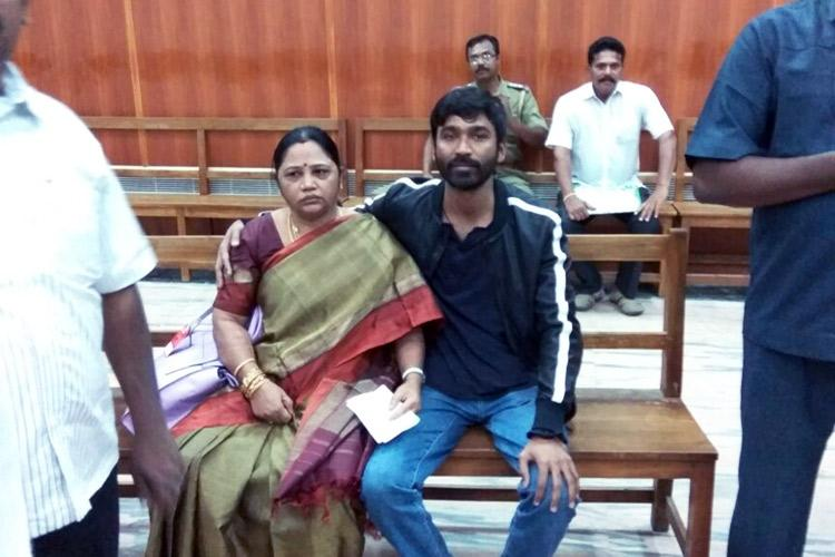 Dhanush appears in court to debunk Madurai couples claim that he is their son