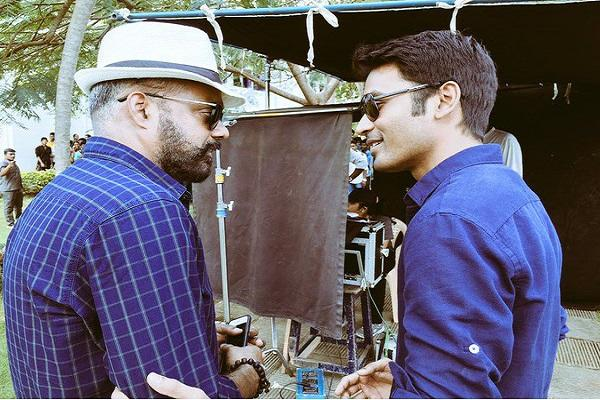 Actor Dhanush and Director Gautham Menon busy shooting for the next film in Turkey