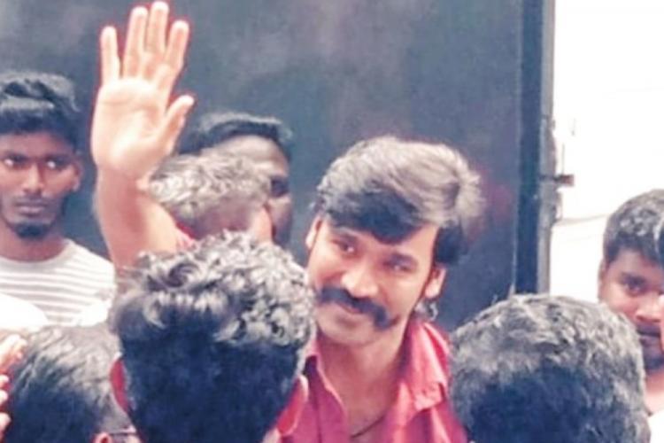 Pics of Dhanushs handlebar moustache go viral