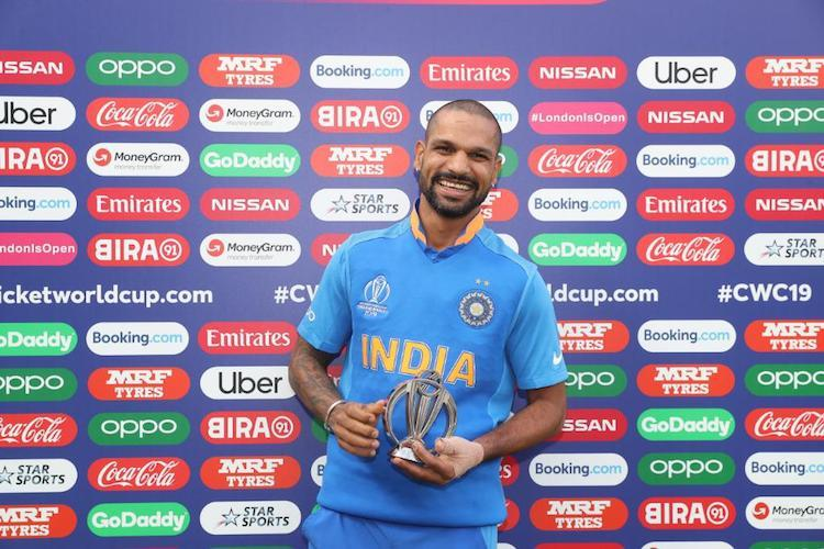 Shikhar Dhawan ruled out of World Cup with thumb fracture
