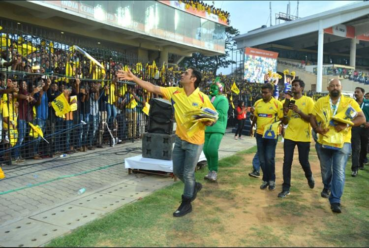 No phones banners or flags Instructions for fans at the Chennai stadium for IPL