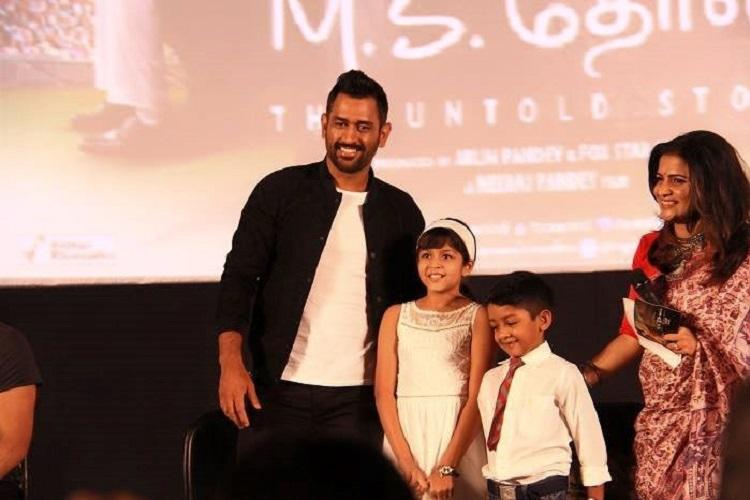 When Dhoni floored Suriyas kids and wife Jyotika