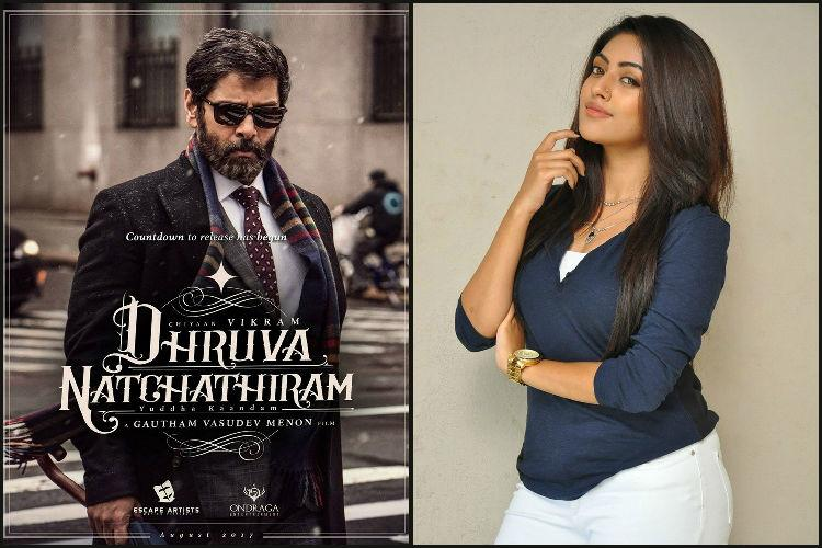 Anu Emmanuel is Vikrams heroine in Dhruva Natchathiram