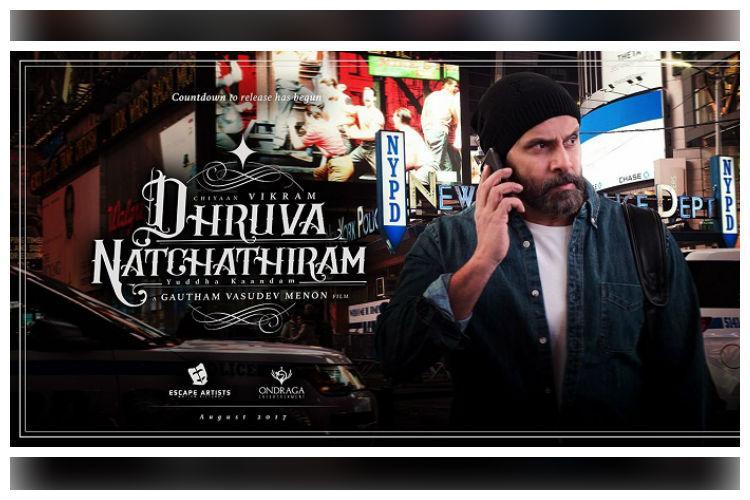 Dhruva Natchathiram second teaser out ahead of Vikrams birthday